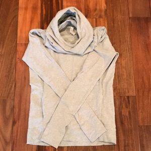 Gray Lululemon sweatshirt